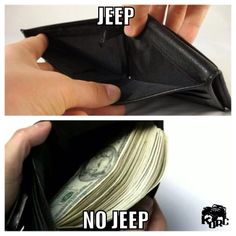 "MY LIFE STORY IN A NUTSHELL, IT REALLY IS A ""JEEP"" THING!"