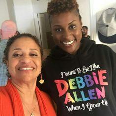 Queens Issa Rae & Debbie Allen