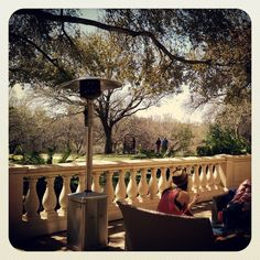 Four Seasons outdoor patio great place to recharge at #SXSW (Instagram photo by @sheltoninteractive)