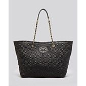 Tory Burch Tote - Marion Quilted Small East West