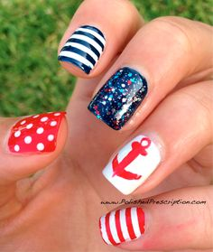 Polished Prescription: Nautical-inspired. 4th of July??