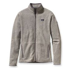 Small Patagonia Women's Better Sweater™ Jacket - Natural/Grey
