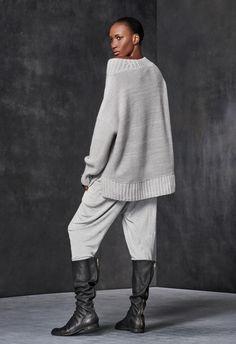 Oversized Wide Neck Sweater – Urban Zen
