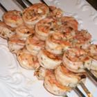 Grilled Marinated Shrimp Skewers, prefect to pre-make and grill up for BBQ party