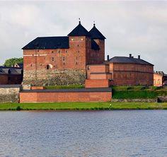 The Tavastia Castle   Hämeen linna, Hämeenlinna, Finland Finnish Language, Castle Pictures, Old Mansions, Medieval Castle, My Land, Old Buildings, Helsinki, Ancient History, Homeland