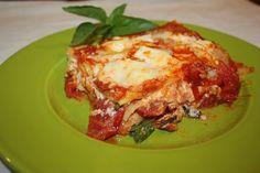 Lasagnetta con burrata e pomodorini