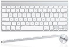 Cool Apple Wireless Keyboard with Bluetooth - Compatible with Mac Computers, iPad, Apple TV, and iPhone.  For You