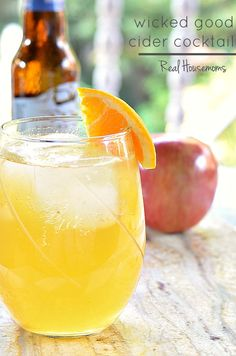 Wicked Good Cider Cocktail   Real Housemoms