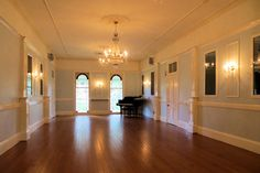 A colonial ballroom. I want to waltz on that floor.