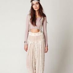 Free People New Romantics Sheer Glamourai Pants New with tags and extra sequences fits like a small Free People Other
