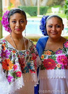 Mayan traditional dress