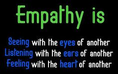 As a leader it is important that we practice empathy when working with our clients so as a CTRS we can better connect with our clients.