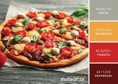101 Color Combinations to Inspire Your Next Design – Pizza Color Palette