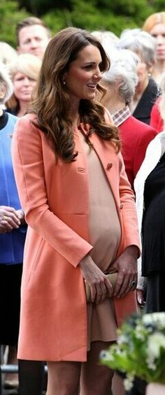 I hope I look as fabulous as her that pregnant.