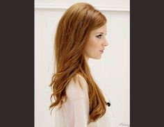Idée coiffure cheveux longs et détachés