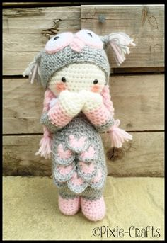 Handmade Crochet Amigurumi Olivia Owl Bird Plush Doll - cute Gift/keepsake idea…