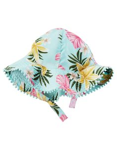 d5145094c79ce Baby Girl Floral Sunhat