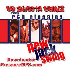 New Jack Swing R&B Classics Mix Collection Mixtape CD Compilation #ClassicRBFunkNeoSoul