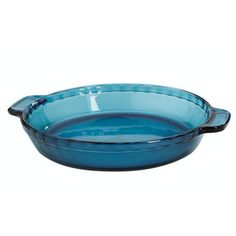 Anchor Hocking Coastal Blue Glass Pie Dish 95 Inch Set of 2 -- Check out this great product.