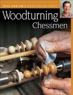 Woodturning Chessmen Darlows Woodturning series ** Click image for more details.