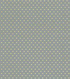 Uphostery Fabric-Waverly Old World Charm Prussian Dot Lakeside