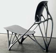 "Industrial Design  - ""Bone Chair"" by Joris Laarman - This makes me think of ""Alien"" for some reason. I love it."