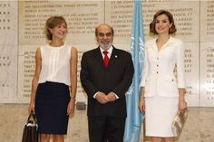 Queen Letizia of Spain is named FAO Special Ambassador for Nutrition at the FAO Headquarters on June 12, 2015 in Rome, Italy.