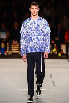 Kenzo, Look 5 (style.com) | Paris Men's Fashion Week