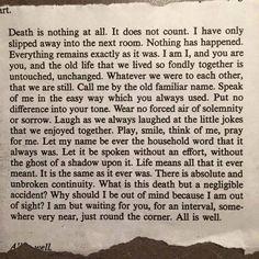 Joseph Pede Poetry: Death - Henry Scott Holland