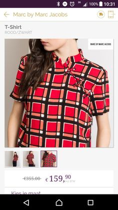 New Chicese Inspired Diy Fashion Dresses, Marc Jacobs, Dress Up, Plaid, Couture, Inspired, T Shirt, Tops, Women