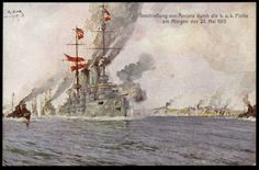 The Shelling of Ancona by the Austrian Navy