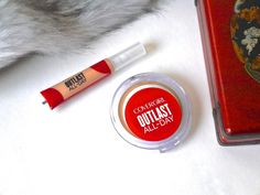 CoverGirl Outlast All-Day Concealer, CoverGirl Outlast All-Day Matte Finishing Powder