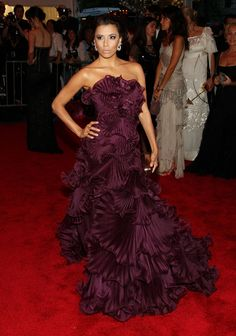 The first Marchesa gown I fell in love with. Eva Longoria at the 2008 Met Gala.
