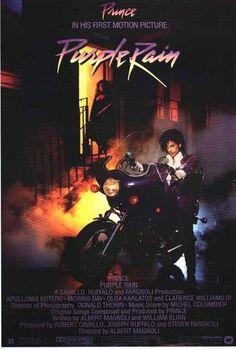 Prince Purple Rain Movie Poster 24x36 – BananaRoad