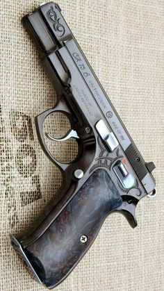 During the forty years since its 1975 introduction, the CZ 75 has grown to be one of the most important handgun designs in . Weapons Guns, Guns And Ammo, Airsoft, Armas Ninja, Cz 75, Custom Guns, Military Guns, Fire Powers, Cool Guns