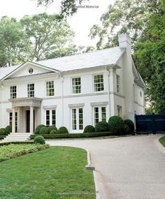 Suzanne Kasler | dream home | gorgeous classical architecture | white home