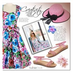 """""""Twinkledeals 17"""" by pamelica ❤ liked on Polyvore featuring vintage"""
