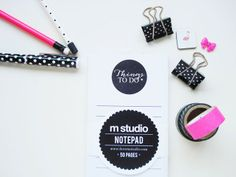 A few of my favourites for getting organised. #stationery #washitape
