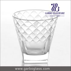 Whisky glass with design