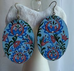 Hey, I found this really awesome Etsy listing at https://www.etsy.com/il-en/listing/280220862/earrings-painted-earrings-wood-unique