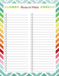 diy home sweet home: Home Management Binder - Books, Wine, and Movies list