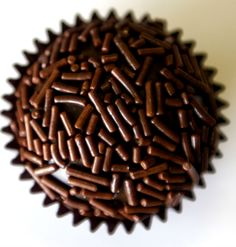 Brigadeiro! Miss this! Best Brazilian dessert