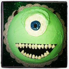 Mike Wazowski Cake
