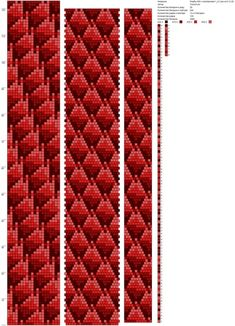 Рисуем схемы для жгутов из бисера, вышивки и др.'ın fotoğrafları Crochet Rope, Beaded Crochet, Bead Crochet Patterns, Charts And Graphs, Native American Beading, Loom Beading, Beaded Jewelry, Perler, Etsy