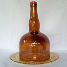 Wine bottle cheese dome