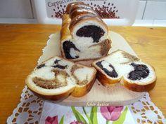 Foszlós töltött kalács kicsit másképp Ring Cake, Evo, Scones, Pancakes, Muffin, Breakfast, Breakfast Cafe, Muffins, Pancake