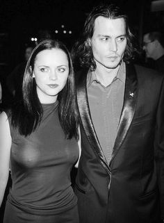 Christina Ricci and Johnny Depp