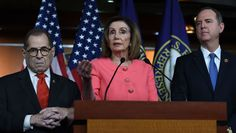 House Democrats told the Supreme Court on Monday they need secret grand jury materials from the Mueller investigation to determine whether or not to impeach Pre General Counsel, Grand Jury, Supreme Court, Investigations, Donald Trump, Daily News, House, Led