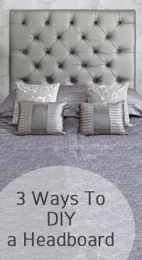 3 Ways to do a DIY Headboard for under 50.00
