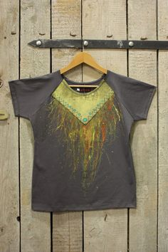 Hand-painted T-shirt - only in size XL